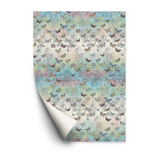 Bug Art Collection Butterfly Gift Wrapping Paper Sheets